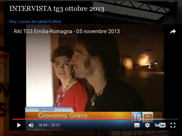 Tg3 emilia romagna giovanna greco cantiere artistico mirna casadei